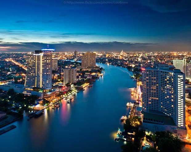 دیدنیهای تور بانکوک,رودخانه چائو فرایا