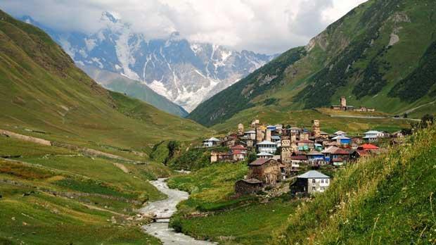 جاهای دیدنی گرجستان,اوشگولی