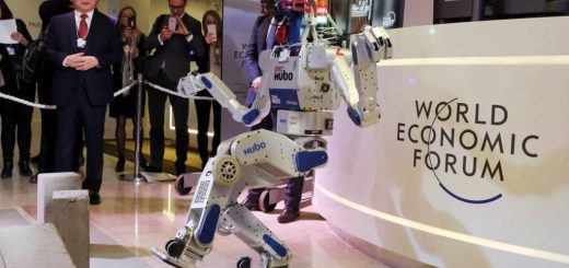 روبوتی در مجمع جهانی اقتصاد (داووس)