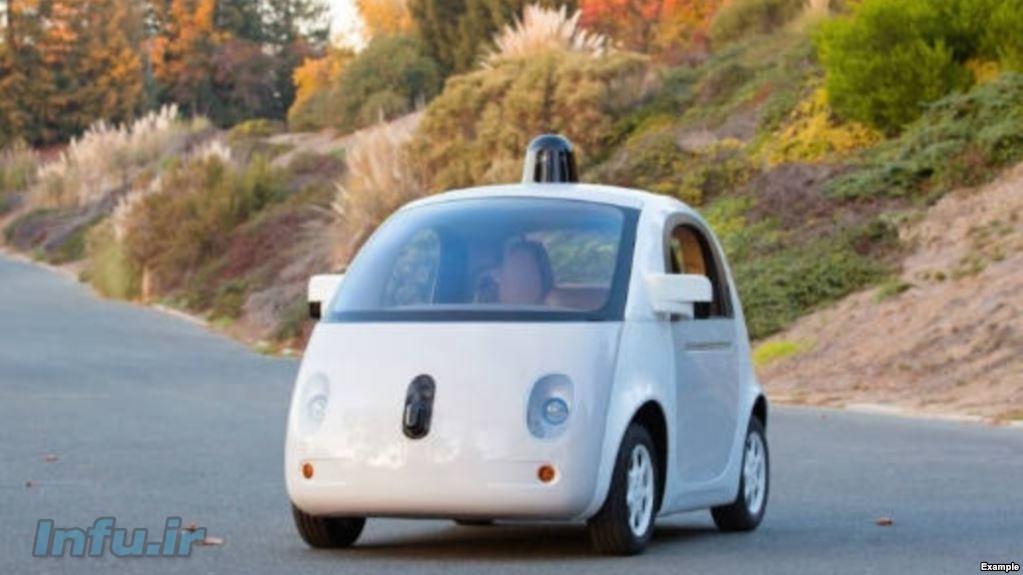 خودروی بیراننده گوگل