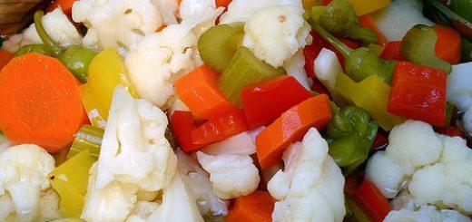 شور گل کلم و هویج