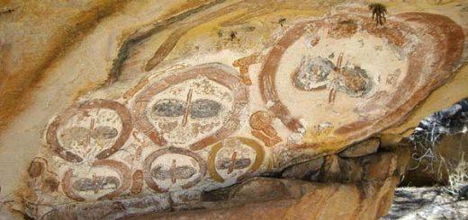 نقاشی غار ۷۰۰۰ ساله در استرالیا