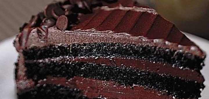 کیک خیس شکلاتی