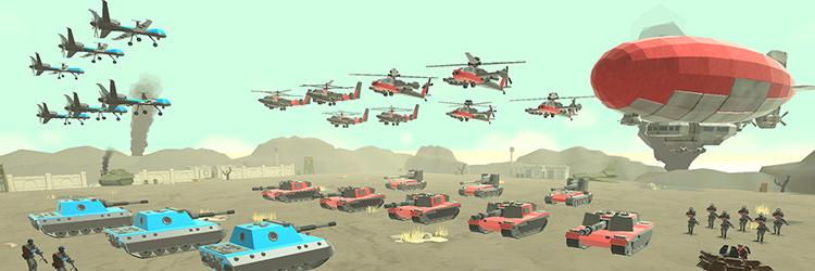 بازی Army Battle Simulator