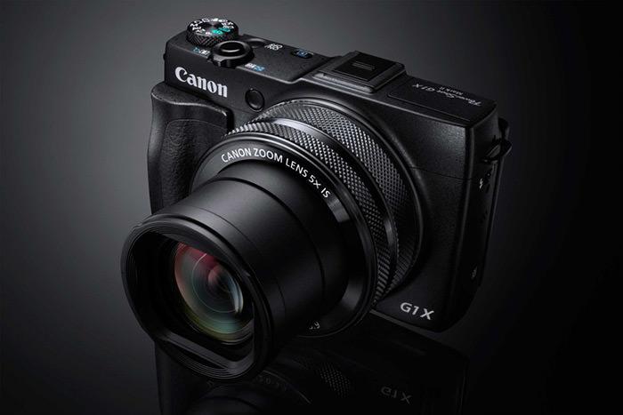 بهترین دوربین کامپکت- کانن g1x