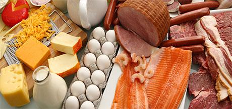 ماده غذایی سرشار از پروتئین
