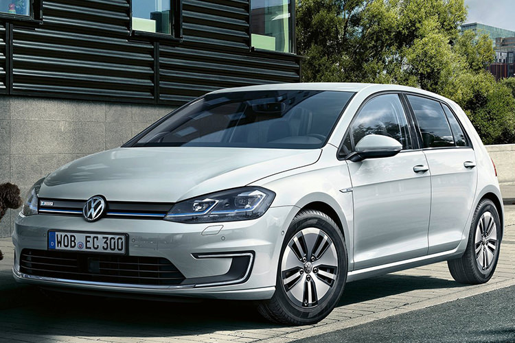 VW e-Gold / گلف برقی