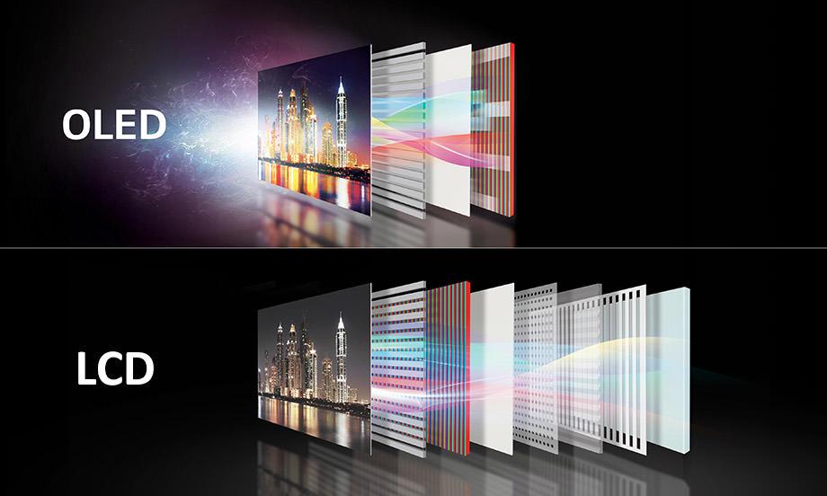 تفاوت LCD با OLED