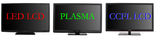 LED Plasma LCD intro