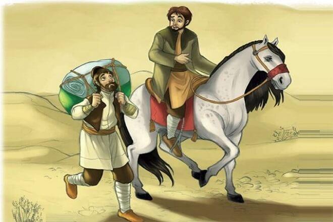 هرگز به هیچ کس نگو چگونه اسب را به دست آوردی