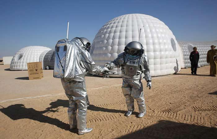 ماموریت شبیه سازی مریخ در عمان