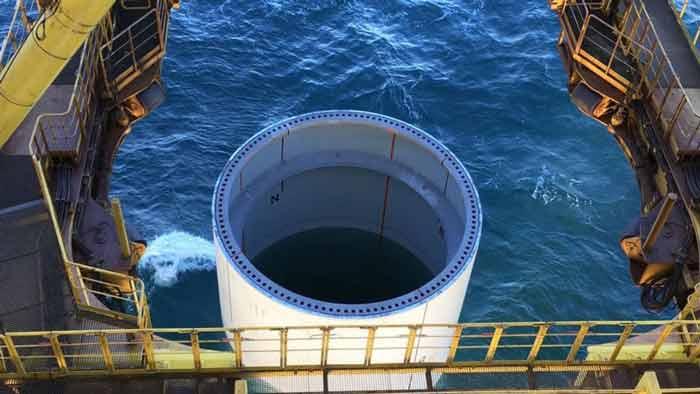 شروع عملیات ساخت و ساز پروژهی هورنسی (Hornsea)،