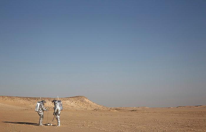 ماموریت شبیهسازی مریخ در عمان