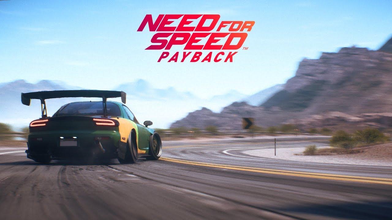 بروزرسانی جدید برای Need for Speed Payback