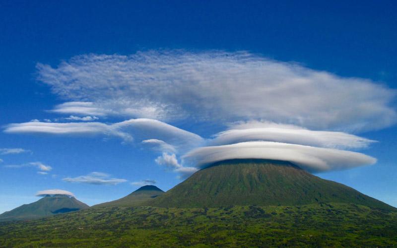 کوههای ویرونگا، شرق آفریقا