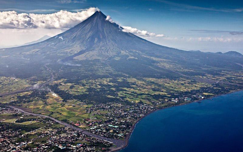 آتشفشان مایون، فیلیپین