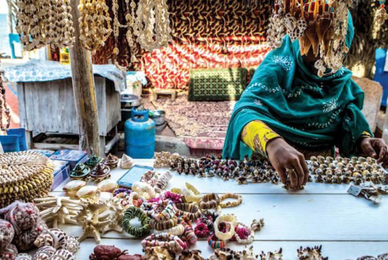 بازار محلی جزیره هنگام