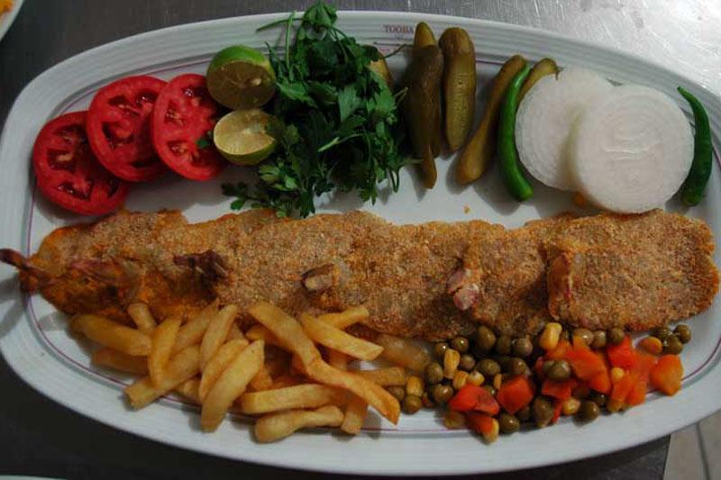 رستوران در شهر شوش