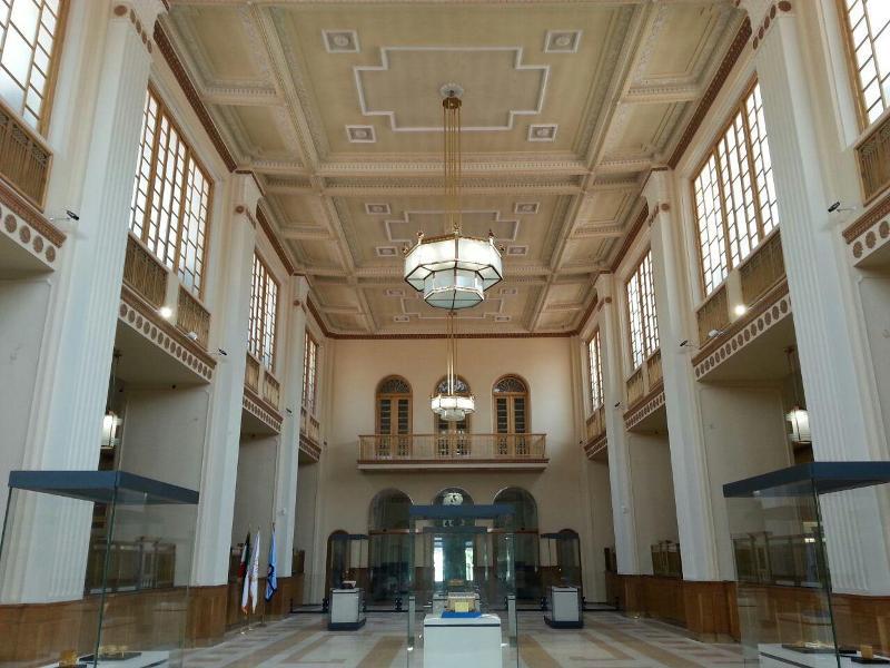 ورودی موزه بانک ملی