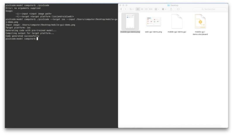 اینفو - برنامهای که با کمک هوش مصنوعی، رابط گرافیکی را به سورس کد تبدیل میکند!