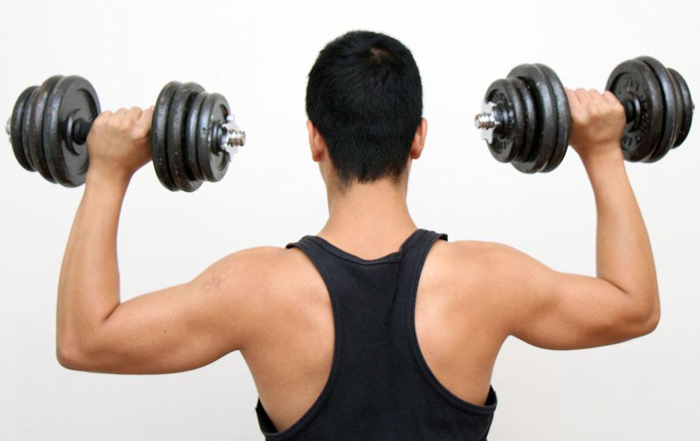 تمرین با وزنه برای کاهش وزن