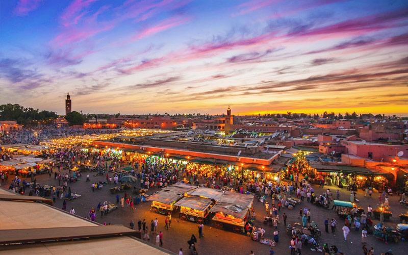 میدان جماعالفنا (Jemaa El Fna) – مراکش