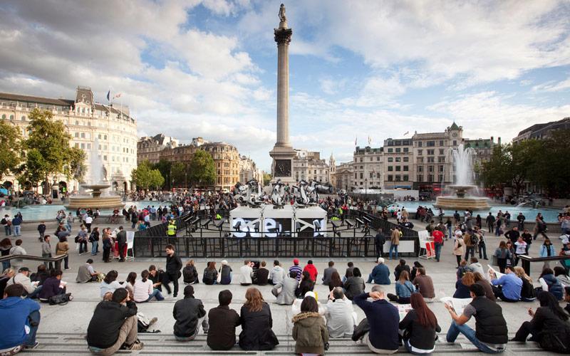 میدان ترافالگار (Trafalgar Square) - لندن