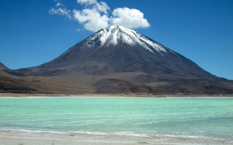 آتشفشان لیکان کابور، بولیوی