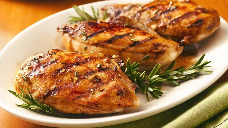 مرغ برای عضله سازی