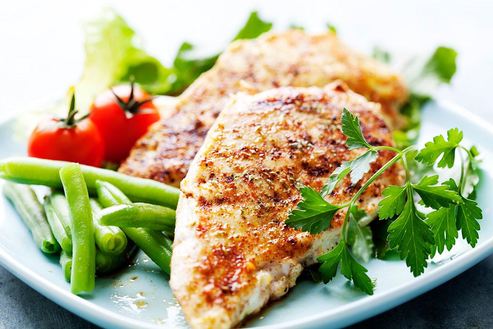 ماهی برای عضله سازی