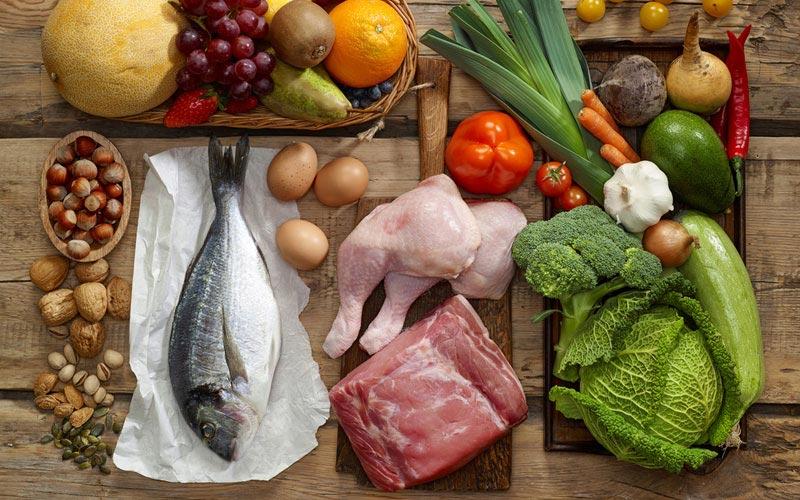 رژیم غذایی سرخپوشان