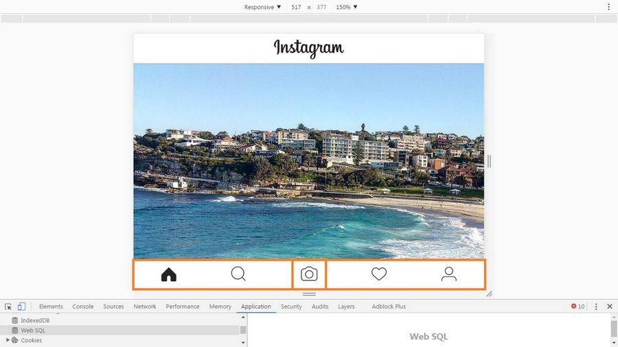 اینفو - آپلود عکس و فیلم از کامپیوتر در اینستاگرام بدون نیاز به افزونه و نرمافزار