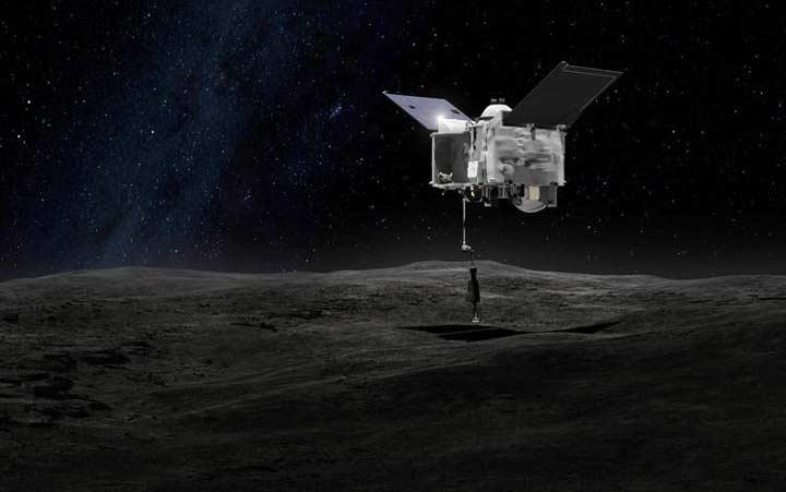 ماموریت اسیریس-رکس ناسا
