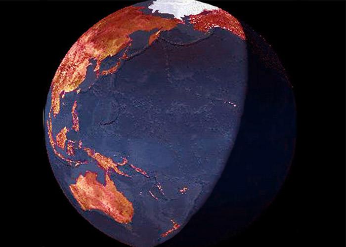 لبه سرخ گیاهی کره زمین