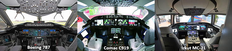 مقایسه کابین هواپیما / Aircraft Cabin Comparison