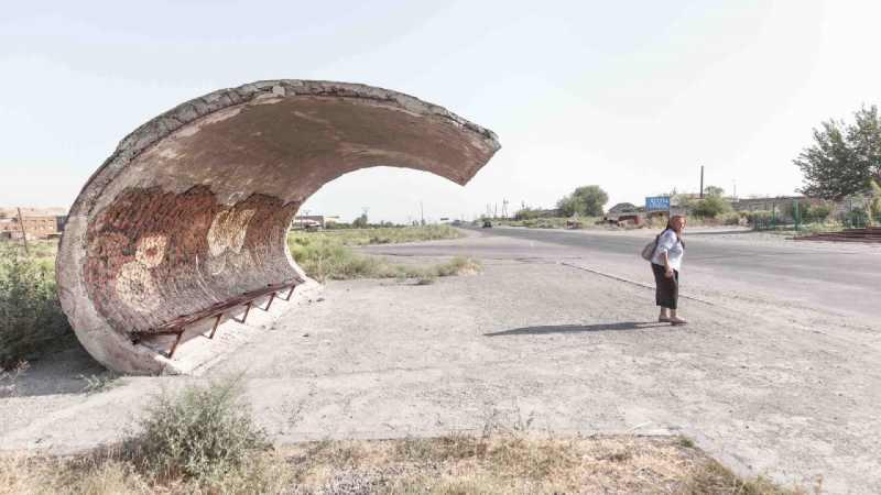 ایستگاه اتوبوس در شوروی سابق