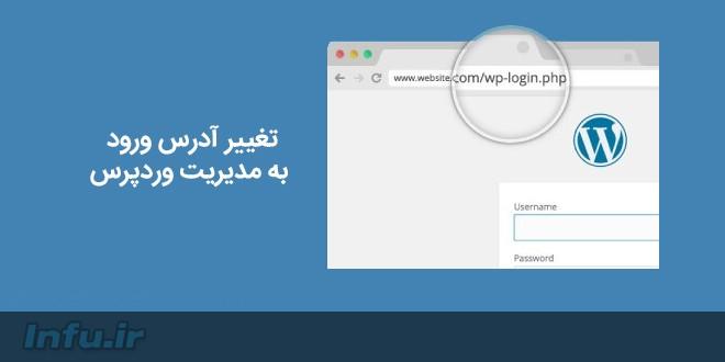 تغییر آدرس بخش مدیریت وردپرس