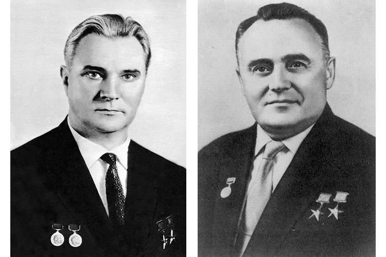 کارالیوف و گلوشکو / Korolev and Glushko