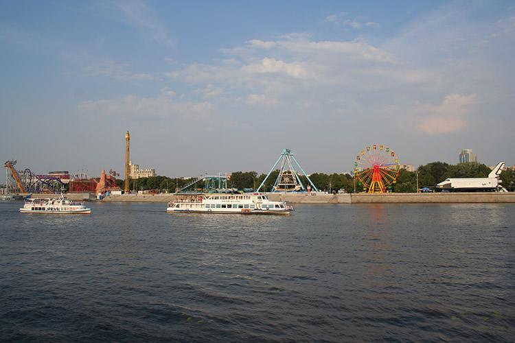 بوران در پارک گورکی / Buran at Gorky Park