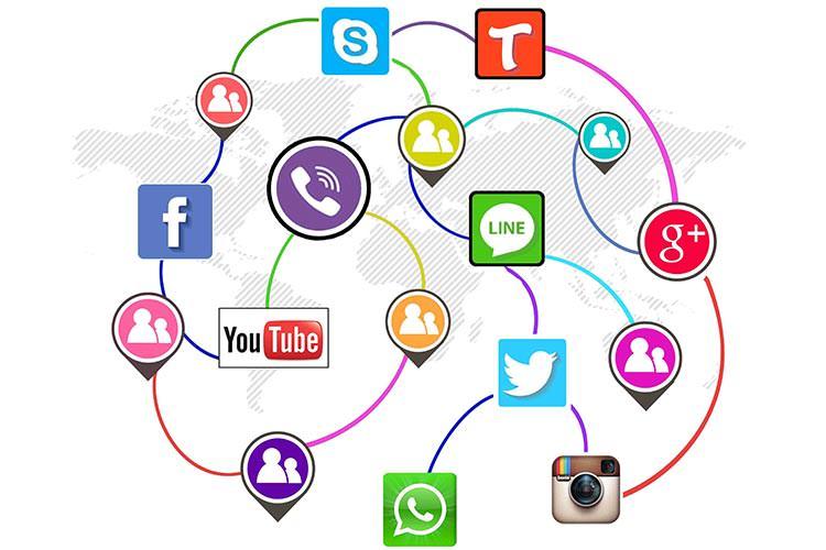 شبکه های اجتماعی شبکه اجتماعی