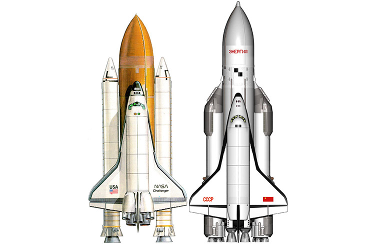 بوران و شاتل فضایی / Buran and STS