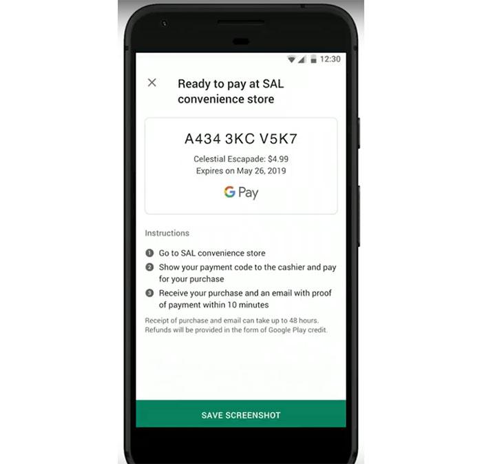 پرداخت گوگل پلی