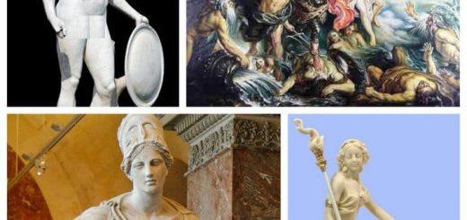 اسامی خدایان یونان باستان / نام خدایان اساطیری یونان و روم / نام اساطیر رومی