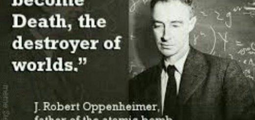 روبرت اوپن هایمر،مخترع بمب هسته ای
