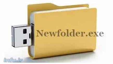 ویروس NewFolder.exe