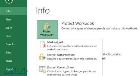 چگونه یک پروژه اکسل را رمز گذاری کنیم