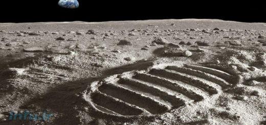 عکسی از ماه متعلق به سال ۱۹۹۴