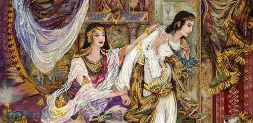 داستان افسانه ای دلدادگی یوسف و زلیخا