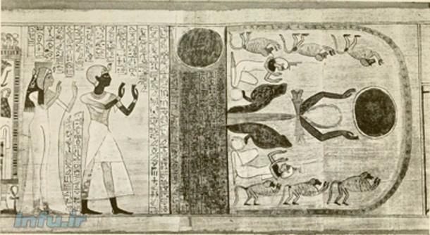 ترس از Sahu ، بخشی روح مانند از روح انسان ، در ادبیات مصر باستان نیز وجود دارد.